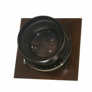 Vintage-Bausch-amp-Lomb-305mm-f-4-5-E-F-Tessar-IC-with-Betax-No-5-Shutter-UG