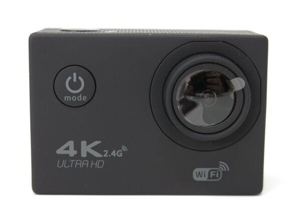 Action Camera Mycam 4k Videocamera Subacquea Wifi 8 Mega Pixel Con Accessori New