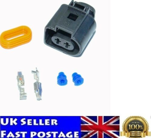 AUDI VW Skoda Passat VAG 2 Pin Sealed Female JPT PLUG connector 1J0973722