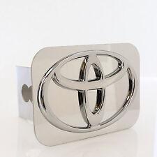 Toyota Chrome Logo Chrome Hitch Cover Plug