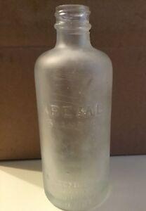 KREML Shampoo  R.B.SEMLER inc. NEW CANAAN CONN U.S.A.6oz.fl Antique GLASS BOTTLE