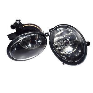 2 PCS Front Convex lens Fog Lamps Fog Lights For VW MK6 5K0941699 5K0941700 New
