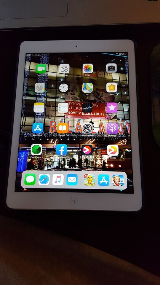 iPad Air, 32 GB, hvid