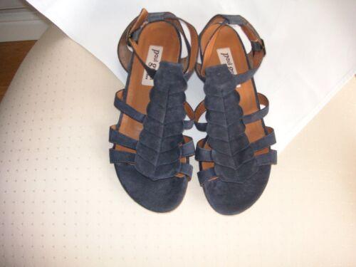139 sandali nuovo taglia rrp blu 4 navy Green quasi eu in bellissimi £ pelle uk Paul 37 UBw4Cqa1