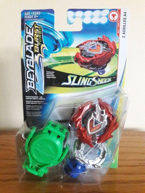 Beyblade Burst Turbo SlingShock Z Achilles A4 D52/tb09-s Starter Pack Hasbro
