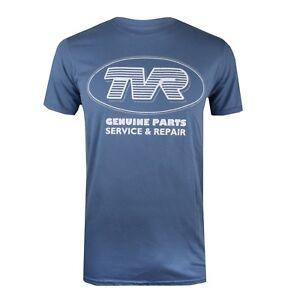 TVR-Car-Parts-Mens-T-shirt-Blue-Size-S-M-L-XXL
