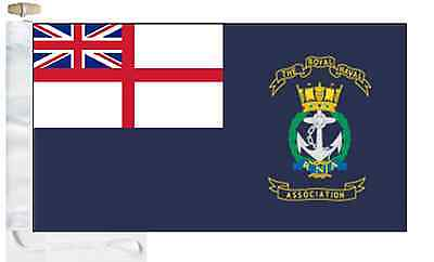 amp; Ensign Association Toggled Naval Boat Roped Flag Courtesy Royal R0xTwq1c