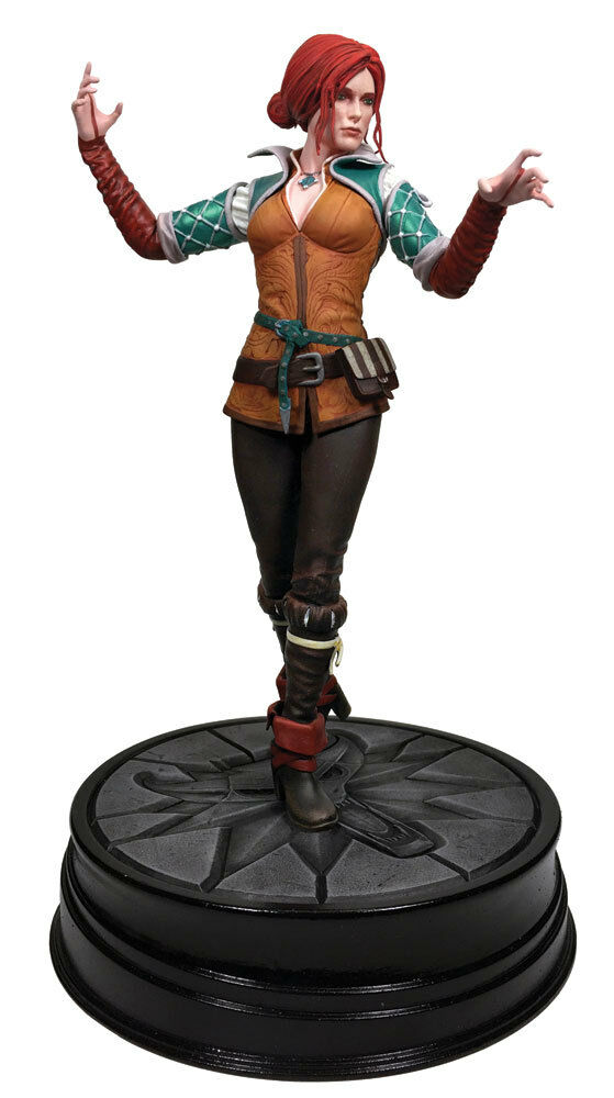 FIGURE THE WITCHER 20 CM 2 3 TRISS MERIor GERALT OF RIVIA STATUA STATUE GAME 1
