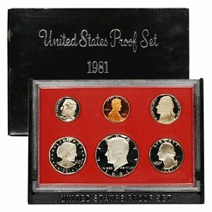 1981-S-Proof-Set-United-States-US-Mint-Original-Government-Packaging-Box-SBA