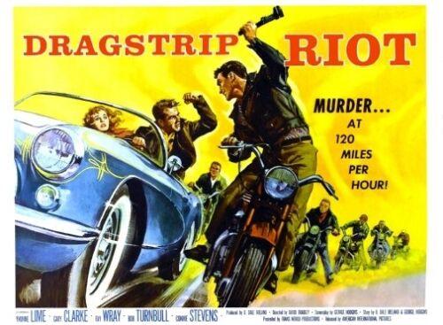 "Dragstrip Riot Movie Poster Mini 11/""X17/"""
