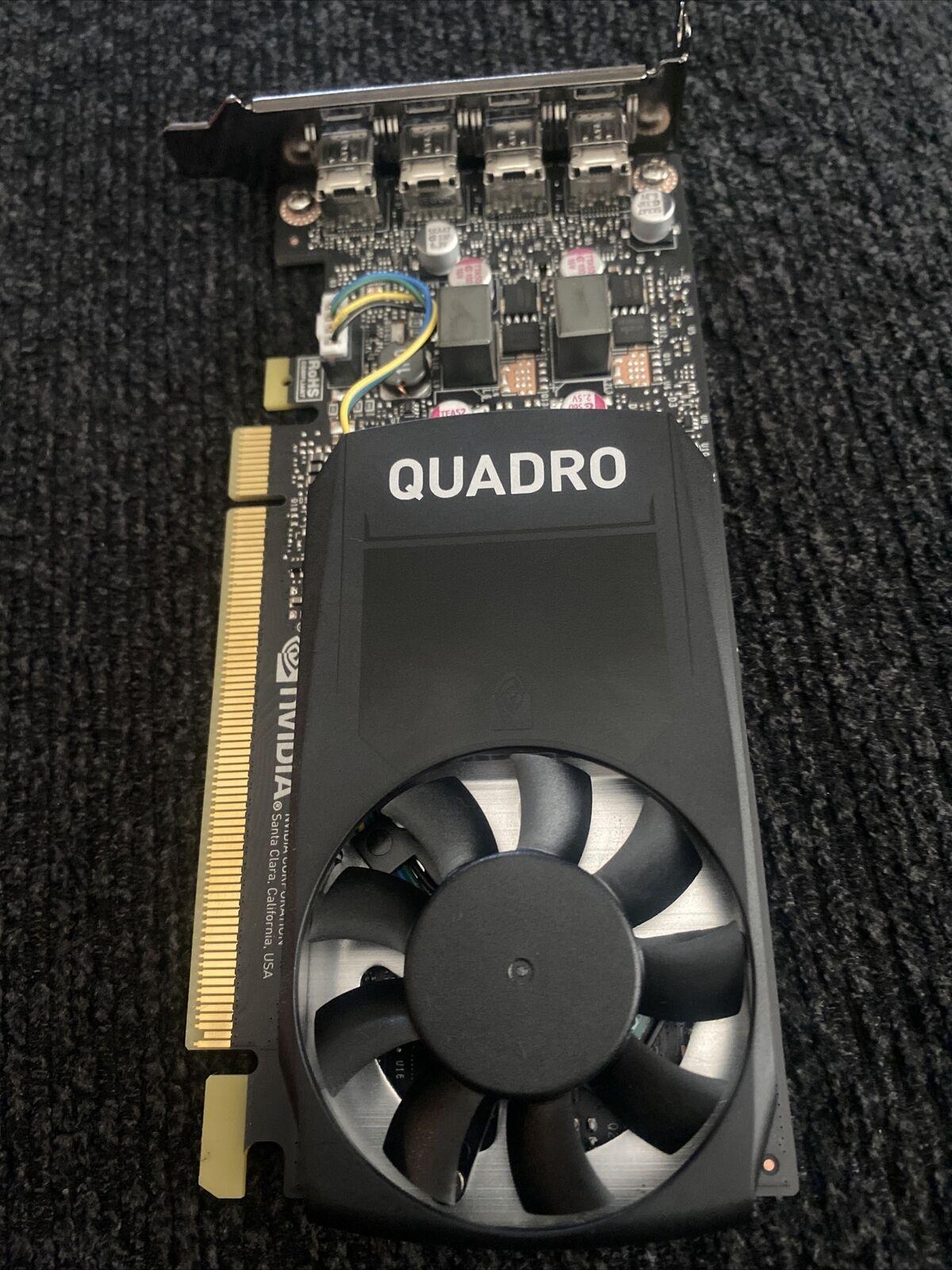 NVIDIA Quadro P1000 4GB GDDR 5 グラフィックカード