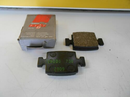 Coppia pattini freno a mano originali Fiat 242 tutti i modelli. 2568.19