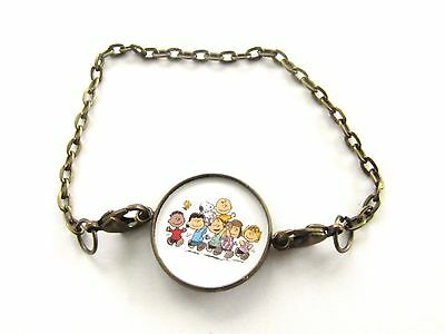 Charlie Brown Gang bracelet-peanuts-snoopy,lucy,linus,peppermint patti,sally