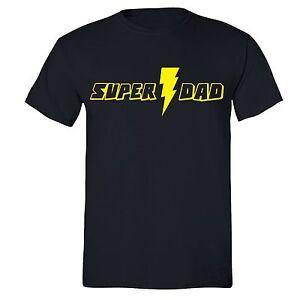 Father-039-s-Day-t-shirt-Gift-Super-Dad-T-shirt-Superhero-Birthday-Husband-Daddy