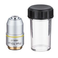 Amscope Pa10x 10x Plan Achromatic Microscope Objective Lens Container