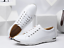 Men-039-s-Casual-Leather-Shoes-Fashion-Sneakers-Sport-Lace-Up-Shoes-Large-Size-10-13 thumbnail 12