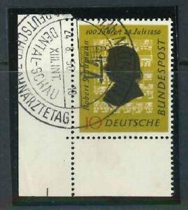 BRD-Mi-Nr-234-Ecke-3-Eckrand-gestempelt