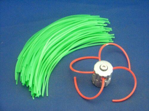 ALU Fadenspule 100 Ersatzfäden 3mm für Motorsense Fuxtec 4in1 Multifunktionssc