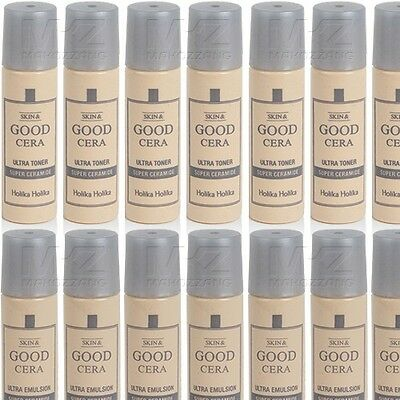 Holika Holika Skin & GOOD CERA Ultra Toner Emulsion 20pcs 100ml Korean Cosmetics