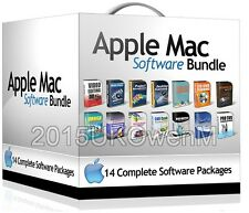 Ultimate Software Bundle for Mac OS X Office Art Design Video Editing Media 2016