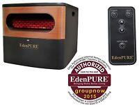 2017 Brand Edenpure Gen 2 Infrared Heater 5000 Btu Heats1000 Square Feet