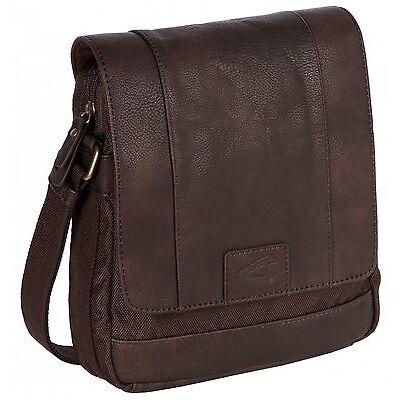 camel active Stockholm Shoulder Bag Tasche Umhängetasche Braun Brown Neu