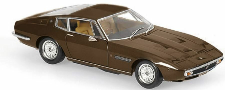 Minichamps - 1 43 1969 Maserati Ghibli Coupe - Marron Métal