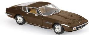 Minichamps-1-43-1969-Maserati-Ghibli-Coupe-Marron-Metalico