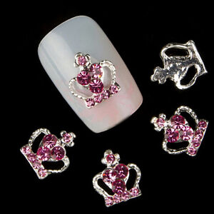 10-Pcs-3D-Crown-Glitter-Rhinestone-Nail-Art-Tip-Decorations-DIY-Manicure-Cheaply