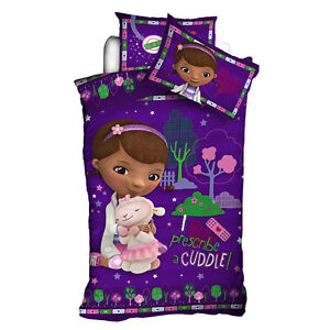 Image Is Loading Doc McStuffins Quilt Cover Set Single Bed Doona