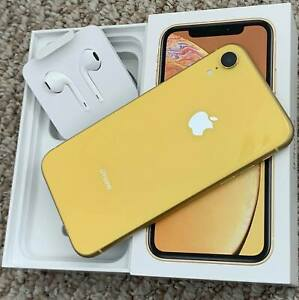USED Apple iPhone XR 64GB Yellow - Complete, Factory Unlocked