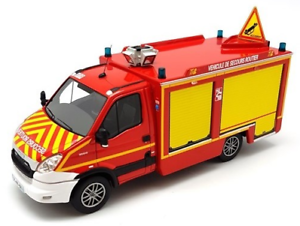 Véhicule de pompier IVECO Daily TIB VSR SDIS de la Marne 51-1//43 ALERTE0060