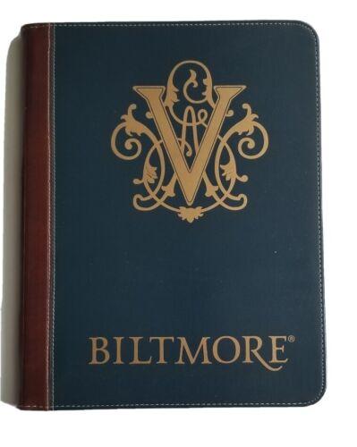 Biltmore Estate Winery Wine Padfolio Business Portfolio Napa