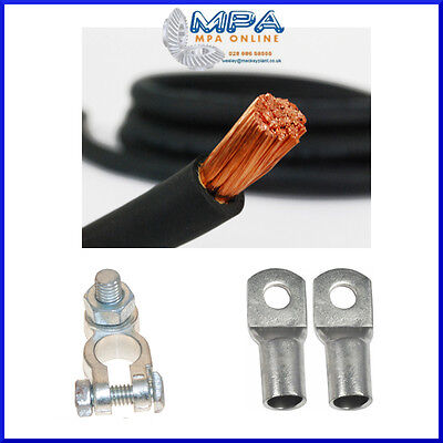 HEAVY DUTY TRUCK LORRY HGV PLANT MACHINERY STRAP BATTERY LEAD CABLE INLINE FUSE