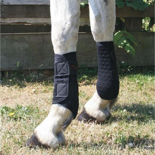 EQUILIBRIUM STRETCH AND FLEX FLATWORK WRAPS PONY//COB//HORSE EXERCISE BOOTS