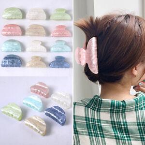Marble-Hair-Claw-Hair-Clamp-Crab-Acrylic-Hair-Clip-Barrette-Hairpin-Hair-Band