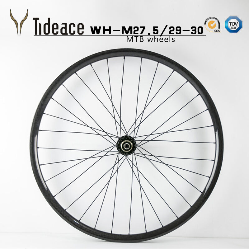 Carbon Fiber Mountain Cykel Wheelset 27.5er  29er MTB RIMS 3K Glansigt  Matte Wheels