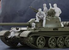 AC Models African T55 Crew 5 figures & stowage 1/35th Unpainted kit