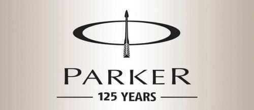 Parker Galaxy GT Gold Trim Ball Pen BP Black Body Blue Ink Jotter Vector Classic