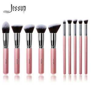 Pro-Jessup-Cosmetics-Foundation-Blending-Brush-Blush-Kabuki-Makeup-Tool-Set-Kit