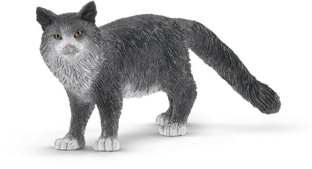 NEW Schleich- Maine Coon Cat from Mr Toys