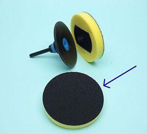 Interface-75mm-Roloc-Aufnahme-und-Klett-Zwischenschicht-Puffer