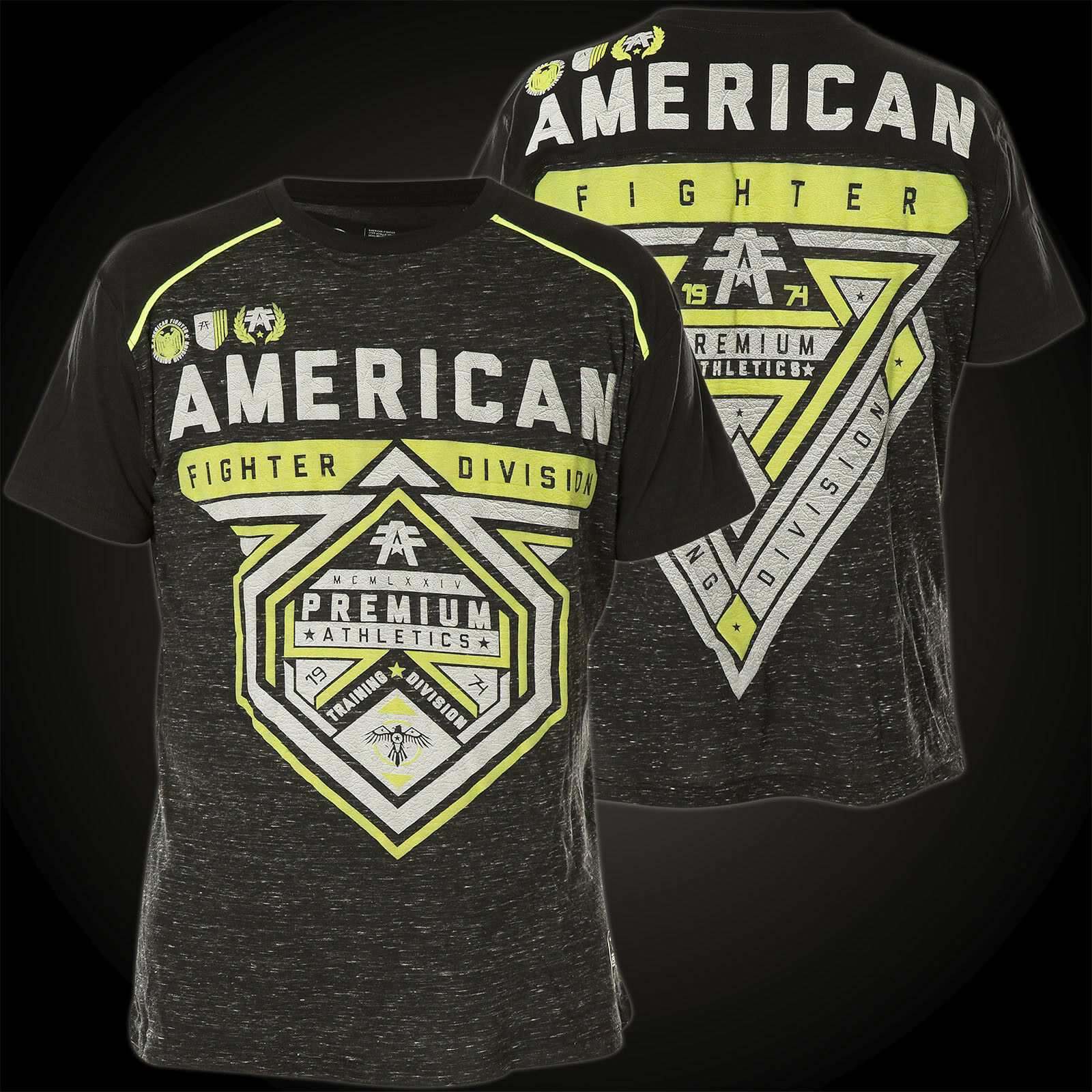 AMERICAN FIGHTER Affliction T-Shirt Cameron WeatheROT Schwarz T-Shirts