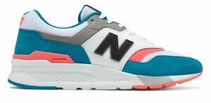 New-Balance-Men-039-s-997H-Shoes-Blue-with-Pink