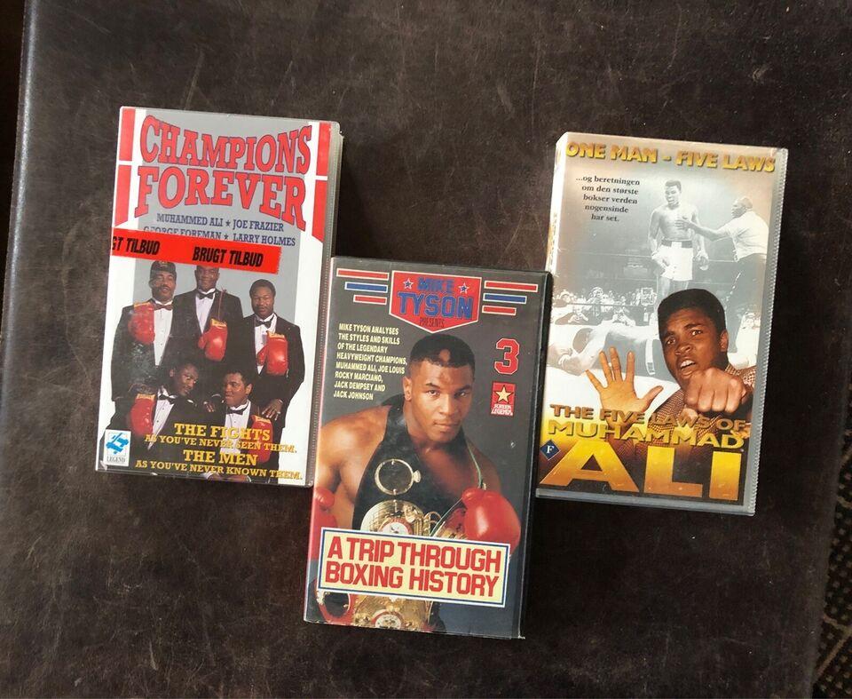 Dokumentar, Diverse boksefilm