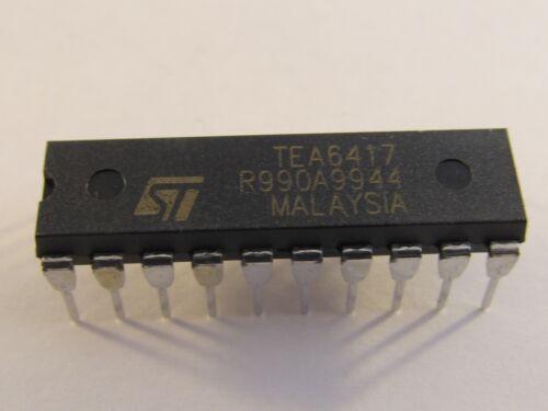5 Pièces-tea6417 STM Bus controllerd vidéo Matrix Switch dip20-5pcs