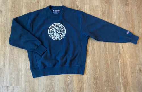 VTG Champion Sweatshirt Rhode Island School Of Des