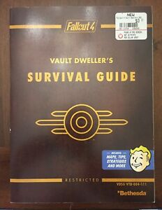 NUOVO-Fallout-4-Vault-Dweller-039-S-GUIDE-DI-SOPRAVVIVENZA-DALLA-PRIMA-GAMES-LIBRO-in-brossura
