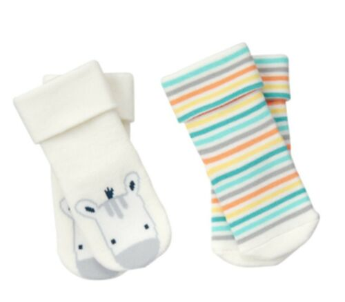 Gymboree Newborn Essentials Baby Zebra Boys 2pk Socks Nwt Newborn 0 M