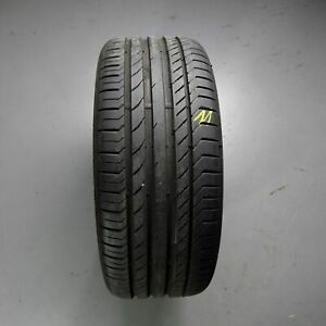 1x-CONTINENTAL-ContiSportContact-5-AO-225-40-r18-92y-Dot-1515-7-mm-Pneus-Hiver